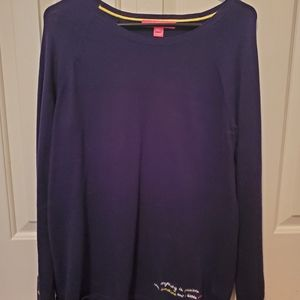 Lilly Pulitzer Navy Sweater